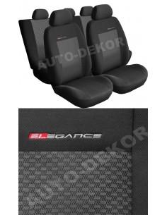 Pokrowce Peugeot 206 98-04R. - Popielaty 3