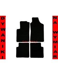 Dywaniki Fiat 500 Od 2007-2012R. Grafit