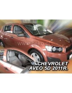 Owiewki Chevrolet Aveo Ii T300 4/5D. Od 2011R. Przody