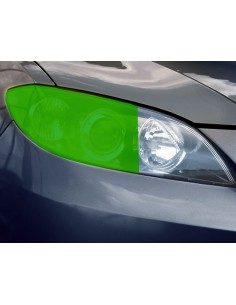 Folia Przyciemniająca Na Reflektory Zielona 30 X 100Cm