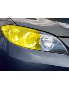 Folia Przyciemniająca Na Reflektory Żółta X 100Cm