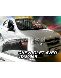 Owiewki Chevrolet Aveo 4D. 2007-2010R. (+Ot) Sedan