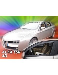 Owiewki Szyby Boczn. Do Alfa Romeo 156, 5D 1997-06.2003