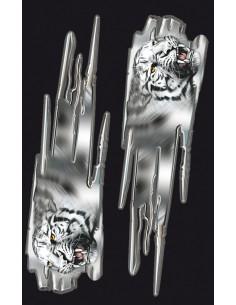 Naklejka - Głowa Tygrysa Mini (2Szt.)