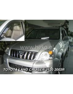 Owiewki Toyota Land Cruiser 120 2003-2009R. (Kpl. Z Tyłami)