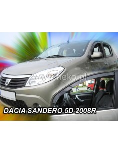 Owiewki Dacia Sandero I / Stapway 2008-2012R. (Kpl. Z Tyłami)