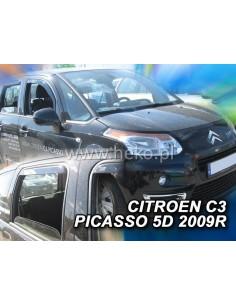 Owiewki Citroen C4 Picasso 2006-2013R. (+Ot)