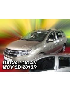 Owiewki Dacia Logan Ii Mcv Od 2013R. (Kpl. Z Tyłami)