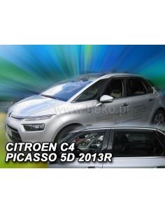 Owiewki Citroen C4 Picasso Mk2 Od 2013R. (Kpl. Z Tyłami)