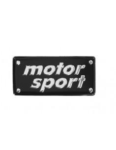 Aluminiowy Emblemat - Motor Sport