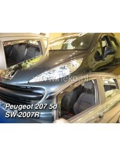 Owiewki Peugeot 206 Od 1998R. (Kpl. Z Tyłami) Combi