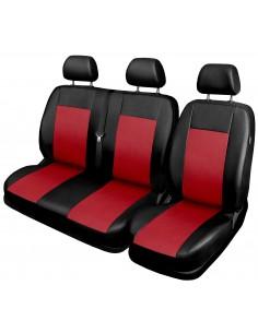 Kpl. Pokrowców Comfort 2+1 Van/bus Czerwone