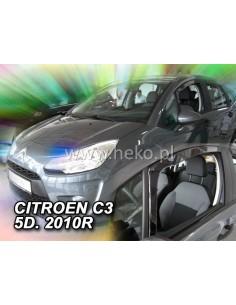 Owiewki Citroen C3 Ii 5Drzw. 2009-2017R. Przody