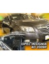 Owiewki Opel Insignia 4/5D. 09-17R. (Kpl. Z Tyłami)