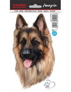 Naklejka - Pies Owczarek 11X18Cm