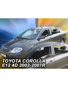 Owiewki Toyota Corolla E12 E13 02-07R. (Kpl. Z Tyłami) Htb