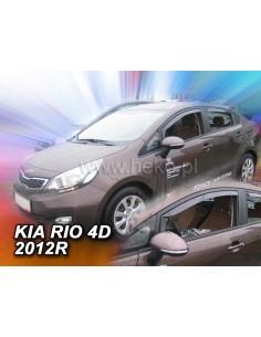 Owiewki Kia Rio Iii 4/5D. 2011-2017R. Przody