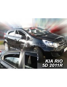 Owiewki Kia Rio Iii 5D. 2011-2017R. (Kpl. Z Tyłami) Htb