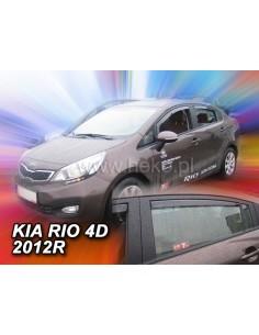 Owiewki Kia Rio Iii 4D. 2011-2017R. (Kpl. Z Tyłami) Sedan