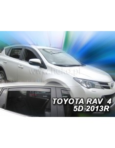 Owiewki Toyota Rav 4 5D. Od 2013R. (Kpl. Z Tyłami)