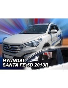 Owiewki Hyundai Santa Fe 5D Od 2012R. Przody