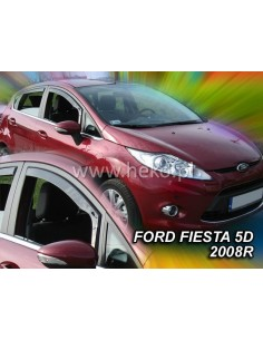 Owiewki Ford Fiesta Mk7 5D. Od 2008R. (+Ot)