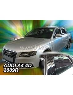 Owiewki Szyby Boczn. Do Audi A4 2009R.->(+Ot) Sedan
