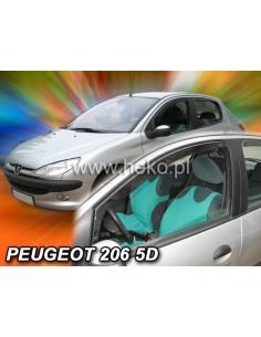 Owiewki Peugeot 206 5Drzw. Od 1998R. Przody