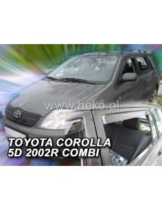 Owiewki Corolla 4/5D. 2002-2007R. Przody
