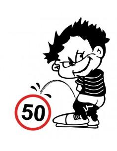Naklejka Sikam Na 50