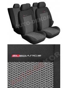 Pokrowce Dacia Logan Sed Popielaty 2