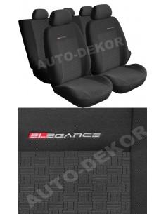 Pokrowce Seat Mii - (Tył Dzielony 2/1) Popielaty 1