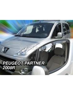 Owiewki Peugeot Partner Od 2008R. Przody