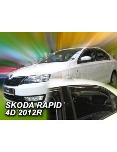 Owiewki Rapid 5D. Od 2012R. (+Ot)