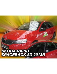 Owiewki Rapid Sportback 5D. Od 2013R. (+Ot)