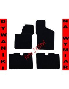 Dywaniki Fiat Seicento 1998-2005 Grafit