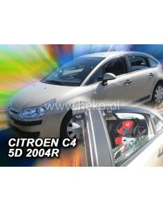 Owiewki Citroen C4 5D. 2004-2010R. (+Ot)