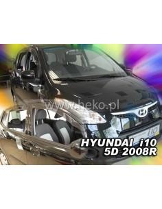 Owiewki Hyundai I10 5D 2008-2013R. Przody