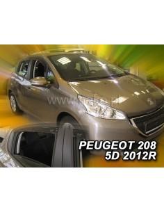 Owiewki Peugeot 208 5D. Od 2012R. (+Ot) Htb