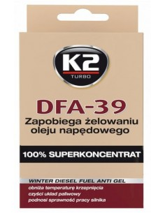 K2 Dfa-39 50 Ml Zapobiega Żelowaniu Oleju Napędowego