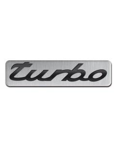 Aluminiowy Emblemat - Turbo