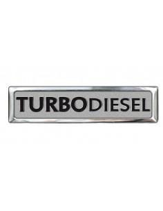 Aluminiowy Emblemat - Turbodisel