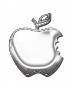 Aluminiowy Emblemat Jabłko