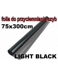 Folia Do Przyciemniania Szyb Light Black 75X300Cm