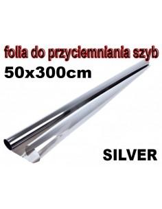 Folia Do Przyciemniania Szyb Silver 50X300Cm