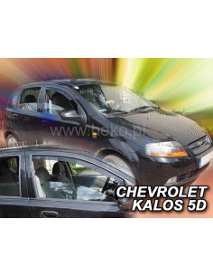 Owiewki Chevrolet Kalos 5D. 2004-2008R. Przody