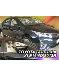 Owiewki Toyota Corolla E16 4D. Od 2013R. Przody