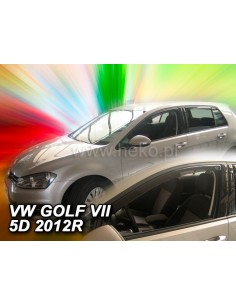 Owiewki Vw Golf Vii 5D. Od 2012R. Przody