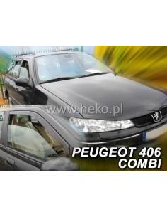 Owiewki Peugeot 406 1995-2004R. Przody