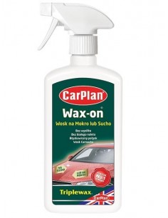 Carplan Wax-On - Wosk Na Mokro Lub Sucho 500Ml